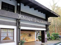 Restaurant Kleine Sennhütte in Hamburg Hausbruch im Ehesdorfer Heuweg.