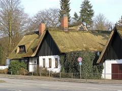 Strohdachhaus - Alsterkrugchaussee