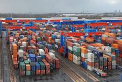 Containerlager Terminal Altenwerder.
