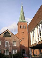 Kirche Römisch Katholische Kirchengemeinde St. Maria - St. Joseph; Hamburg Harburg.