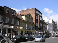 Wohngebäude / Geschäftsgebäude im Schulterblatt - Bilder aus dem Hamburger Stadtteil Sternschanze.