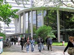 Gelände der Hamburger Uni - Audimax, grösster Hörsaal einer Hochschule.