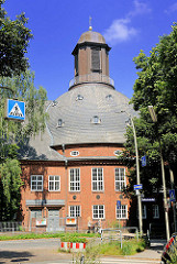 Auferstehungskirche in Hamburg Barmbek Nord / Tiloh - Entwurf Architekt Camillo Günther.