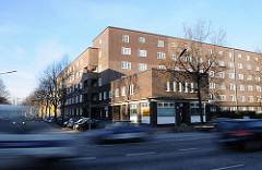 Wohngebäude Kieler Strasse / Waidmannstrasse Stadtteil Altona Nord.