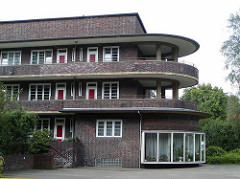 Hamburger Architektur - Backsteinarchtekur in Hamburg Dulsberg.