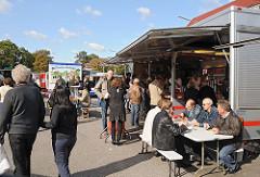 Hamburger Wochenmärkte Bilder vom Wochenmarkt Stadtteil Fuhlsbüttel / Ratsmuehlendamm.