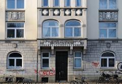 Jugendstilwohnhaus in Hamburg Altona, Kieler Strasse