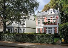 Vorstadtvilla im Gründerzeitstil Hamburg Rahlstedt Oldenfelder Strasse.