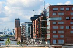 Architektur Fotografie - Moderne Gebäude in der Hafencity - Stadtteile Hamburgs - Sandtorhafen