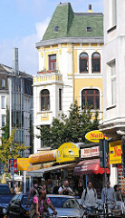 Wohnen und Leben in Hamburg Ottensen - Bahrenfelder Strasse.