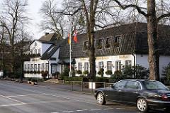 Gourmet Restaurant an der Hamburger Elbchaussee.