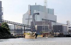 Kohlekraftwerk Hamburg Moorburg an der Süderelbe - Bilder aus den Hamburger Stadtteilen.