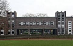 Walddörfer Gymnasium - Architekt Fritz Schumacher.