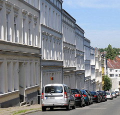 Wohngebäude erbaut um die Jahrundertwende - Architektur in Hamburg Wilstorf, Bezirk Hamburg Harburg.