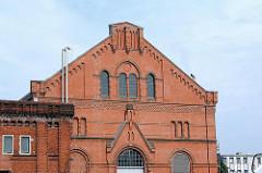 Hamburgs historische Bauten - Architekturgeschichte der Hansestadt Hamburg - Müllverbrennung + Kraftwerk Bullerdeich, Hamburg Hammerbrook.