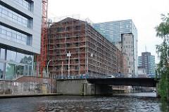 Restauration historischer Architektur Hamburg Harburg - Harburger Mühlenbetriebe - Bahnhofskanal (2007)