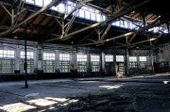 Lokschuppen des Betriebswerks Hamburg Wilhelmsburg