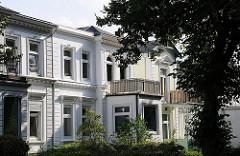 Einfamilienhäuser in Hamburg - Vorstadtvilla Hohelufter Wrangelstrasse.