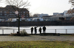 Hamburgbilder aus Hamm Süd - Osterbrook Billeufer.