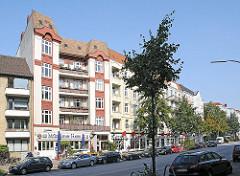 Wohnbebauung an der Gaertnerstrasse.