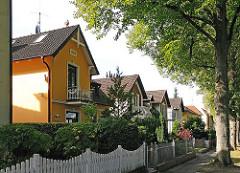 Einzelhäuser im Fuhlsbüttel - Hamburger Vorort Strasse Doverkamp.