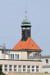 Kirchturm der Christianskirche von Hamburg Ottensen.