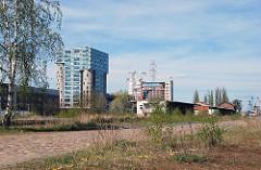 ehm. Harburger Gueterbahnhof - Buerosilo am Schellerdamm. (2005)