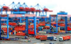 Hafen Hamburg Containerterminal Altenwerder