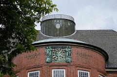 Schulgebäude Johanneum - Maria Louisen Strasse - Architekt Fritz Schumacher.