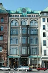Jugendstil Architektur - Hamburger Architekturgeschichte / Heine Haus am Jungfernstieg