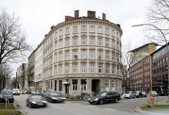 Rundes Wohnhaus - Hoegerdamm / Woltmannstrasse.