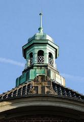 Fotos aus Hamburg Altona; Stadtteil Altona-Nord / Turm Mennonitenkirche