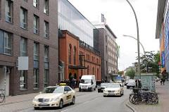 Neubau eines Hotels in der Simon von Utrecht Strasse - Reste der vormaligen historischen Architektur wurden mit integriert.