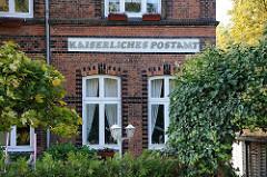 Kaiserliches Postamt am Billbrookdeich - Geschichte der Hamburger Stadtteile.