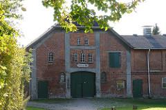 Historisches Bauernhaus gebaut 1904 an der Lemsahler Dorfstrasse