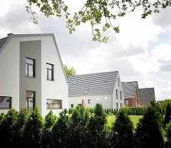 Neubaugebiet am Immenhorstweg in Hamburg Bergstedt, Hamburger Bezirk Wandsbek.