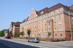 Wohnanlage Altonaer Spar- und Bauverein - Hamburg Bahrenfeld, Stresemannstrasse.