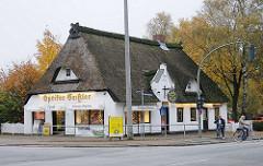 Reetdachhaus - historisches Gebäude Luruper Hauptstrasse - Lüttkamp.
