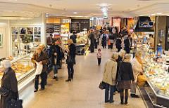 Lebensmittelgeschäfte im AEZ - Delikatessen im Alstertaler Einkaufszentrum.