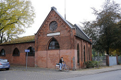 Steinbeker Friedhofskapelle - Steinbeker Friedhof Kapellenstrasse-