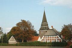 Hamburgs Kirchen St. Johannis - Hamburg Vierlande, Curslack.