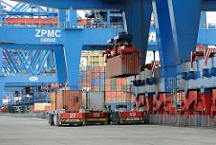 Hafen Hamburg HHLA Container Terminal Altenwerder CTA