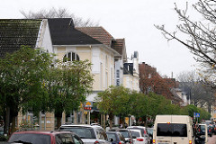 Autoverkehr Waitzstrasse - Hamburg Groß Flottbek.