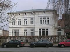 Gründerzeitvilla am Lokstedter Steindamm - Häuser in den Hamburger Vororten - Wohnen in der Hansestadt Hamburg.