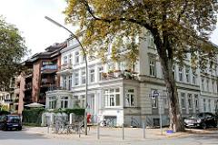 Historisches und modernes Etagenhaus in Hamburg Eimsbüttel - Architekturstile in der Hansestadt Hamburg.