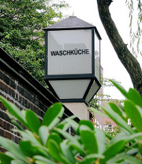 Waschküche - Innenhof Otto Stolten Wohnblock, Jarrestadt - Hamburg Winterhude.