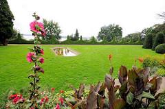 Blick über den Römischen Garten zur Elbe - Fotos aus dem Hamburger Stadtteil Blankenese.