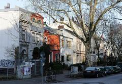 Stadtvilla in der Oelkersallee - Bilder aus Altona Nord.