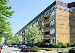 Vorkriegsarchitektur in Hamburg - Wohngebäude am Lunapark, Hamburg Altona.