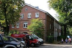 Altes Schulgebäude in der Grundschule  Frohmestrasse - Stadtteil Hamburg Schnelsen.